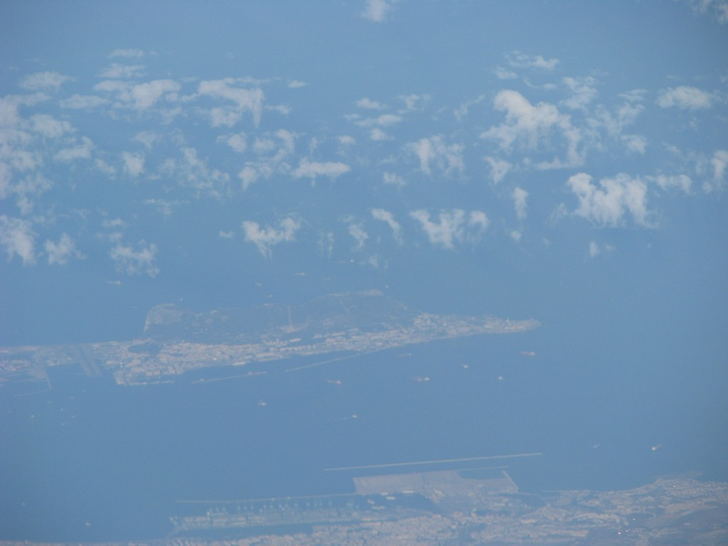 Gibraltar and Algeciras (B) from AF 1897