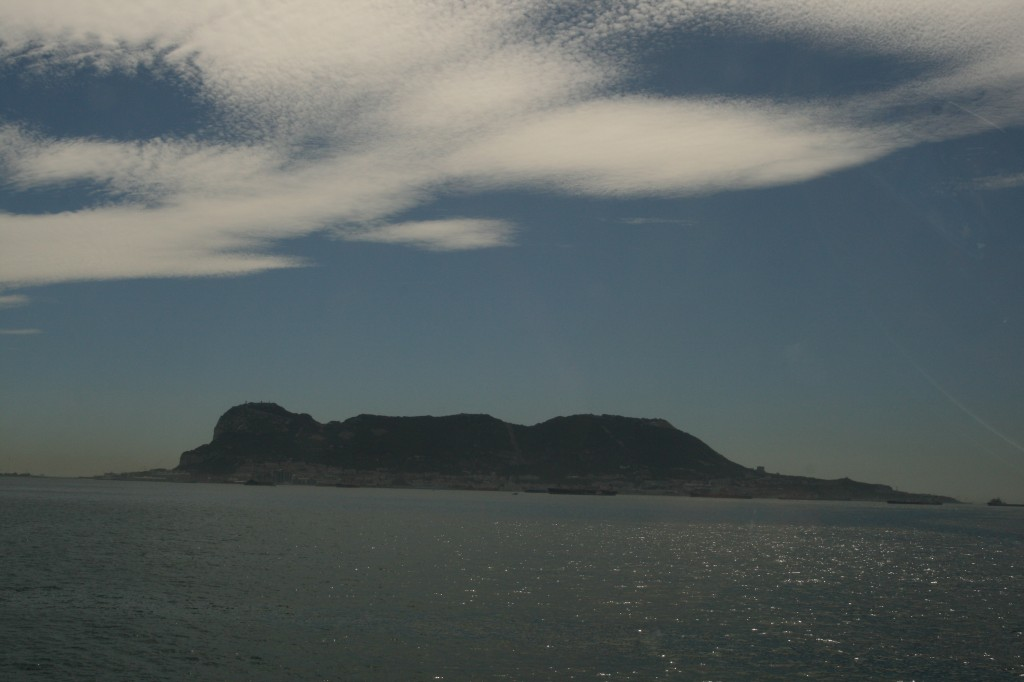 The Rock of Gibraltar (Latin name, Calpe)