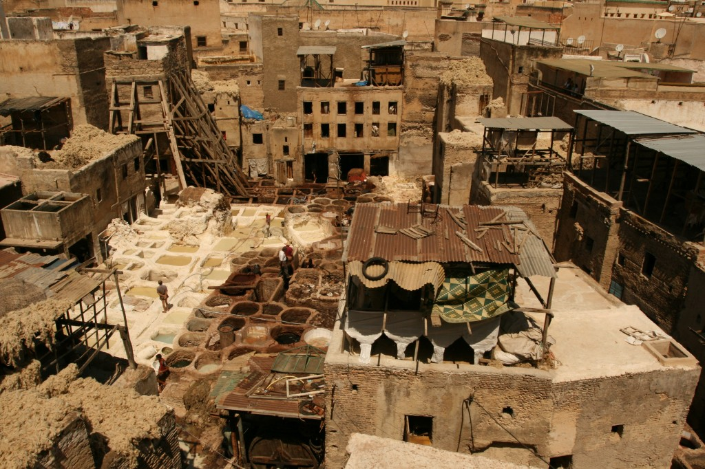 The Tannery in Fez