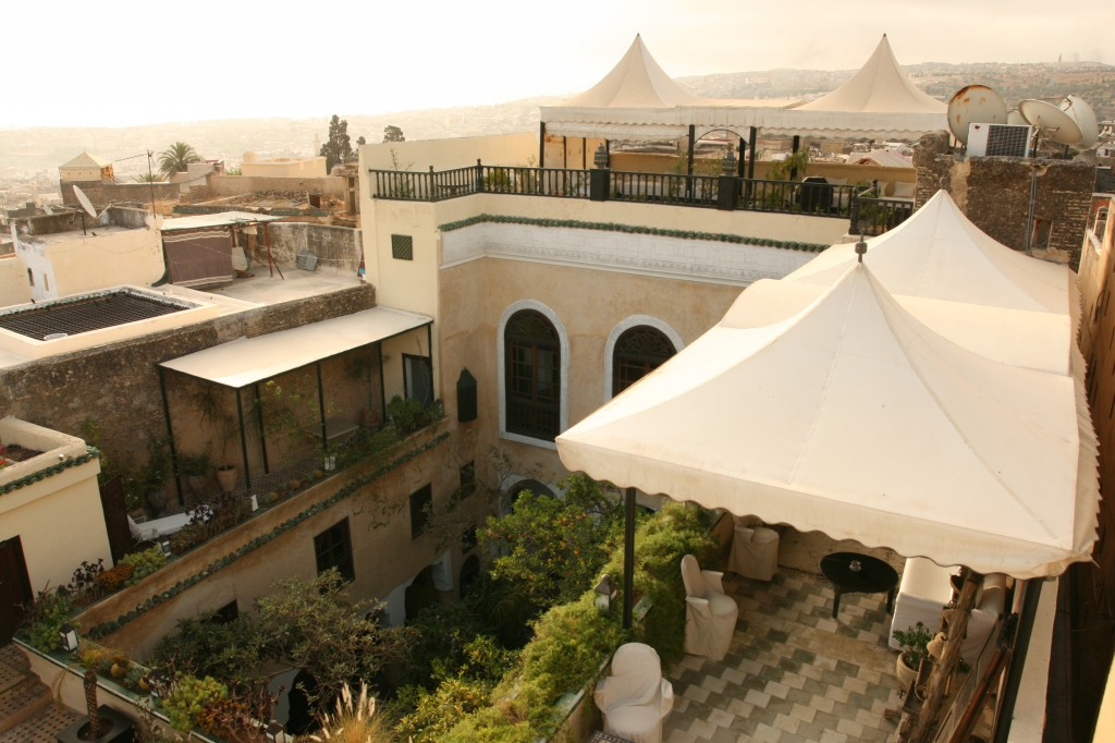 View of the Riad and Fez