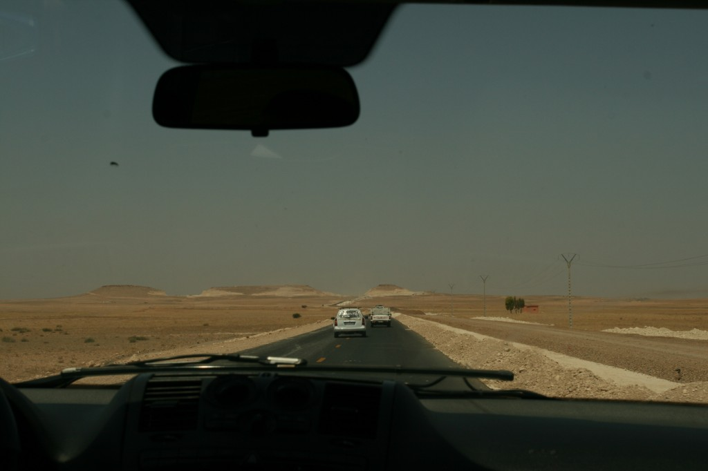 The road to Essaouira